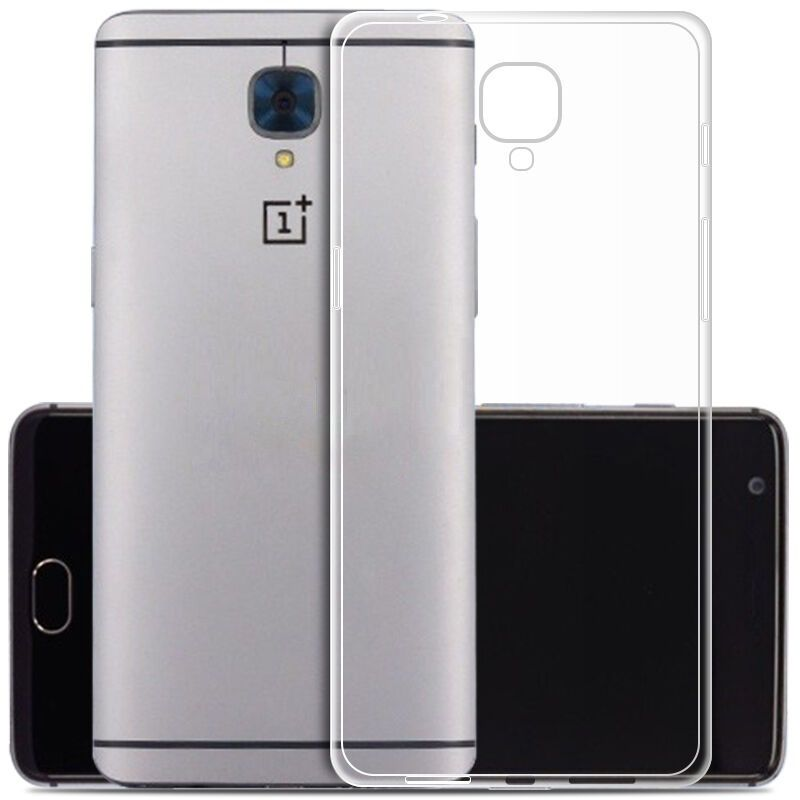 best service 1e1f2 5ff69 OnePlus 3 Plain Back Cover by Wow Imagine - Transparent