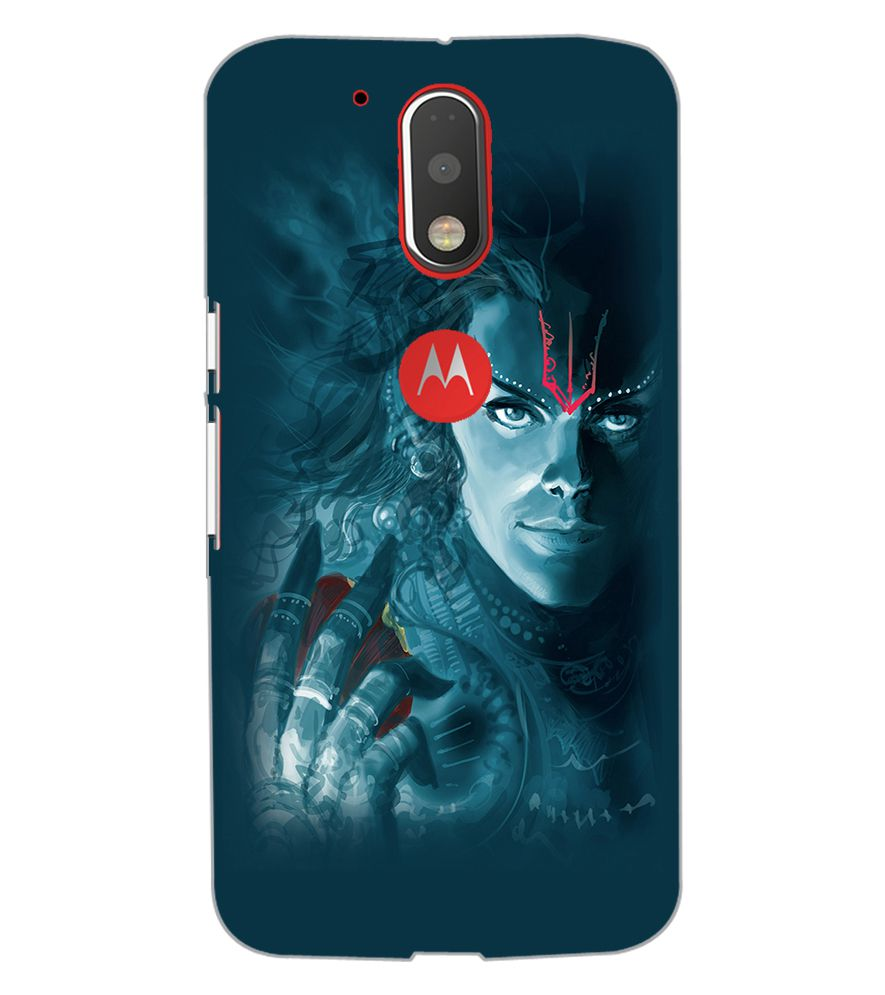 buy popular 37e73 76bb7 Motorola Moto G4 Plus LORD SHIVA Designer Back Cover Case by FARROW