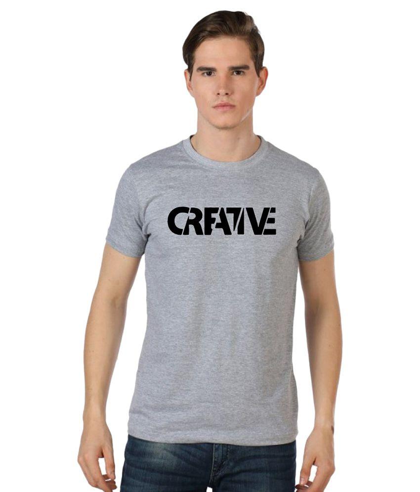 Stylexo Grey Round T Shirt
