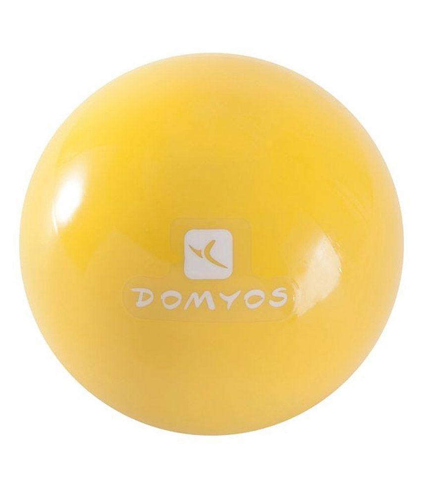 Domyos Yellow Tonning Ball 1 Lbs