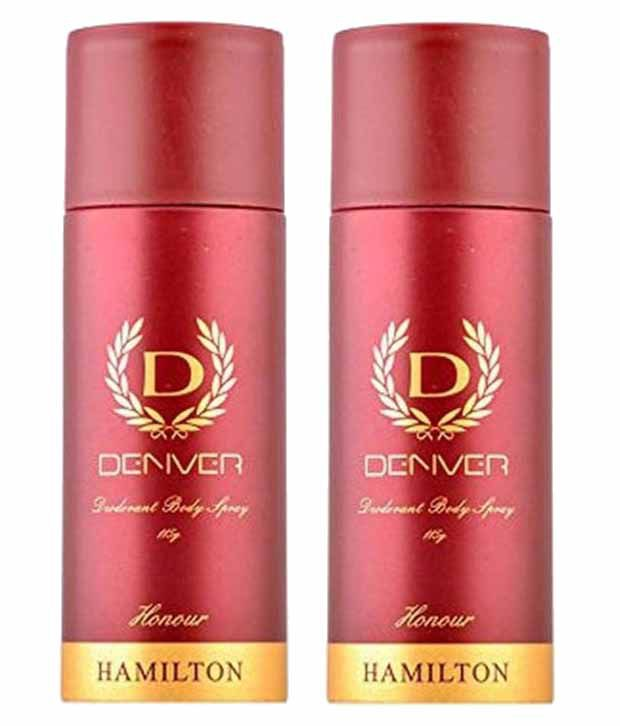 Denver Honour Hamilton Deodorant - 165ml (Pack of 2)