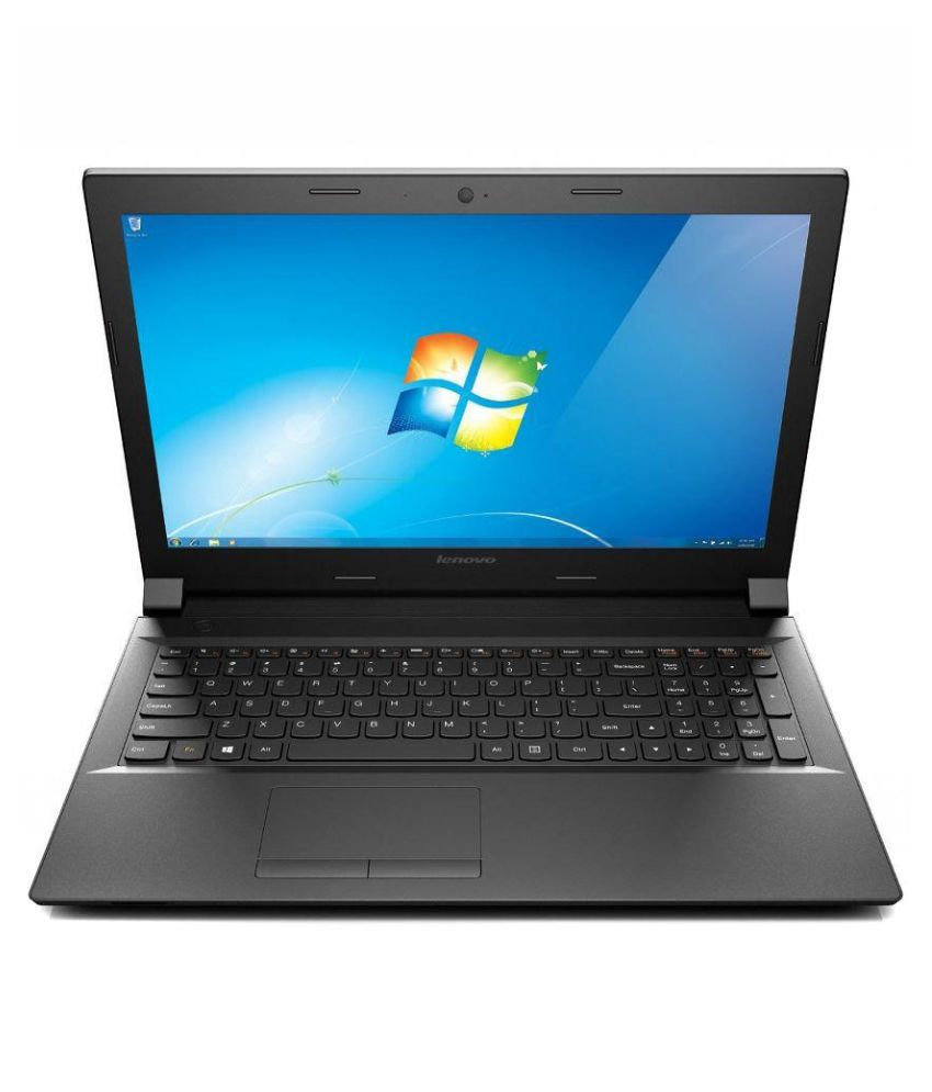 Lenovo B Series B5080 Notebook Core i3 (5th Generation) 4 GB 39.62cm(15.6) DOS Black