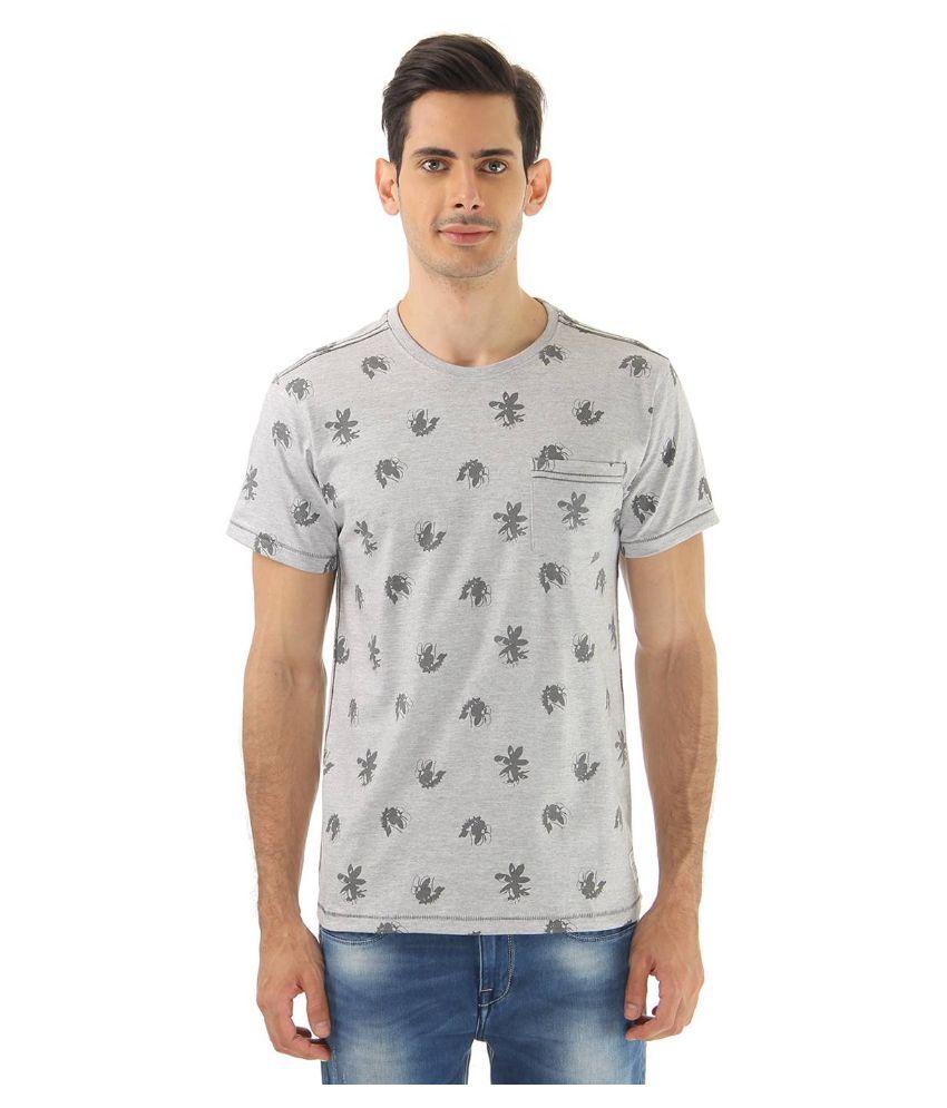 London Fog Grey Round T Shirt
