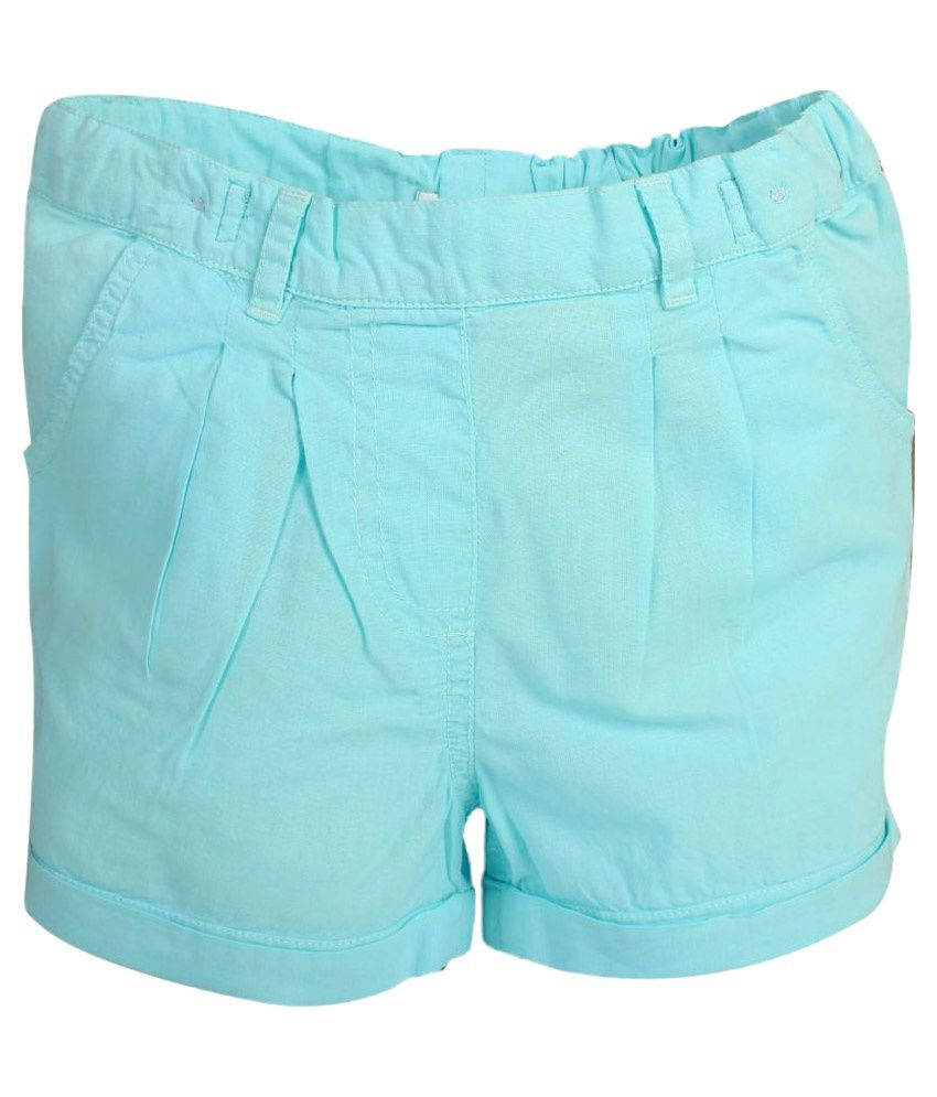Apricot Kids Blue Shorts for Girls