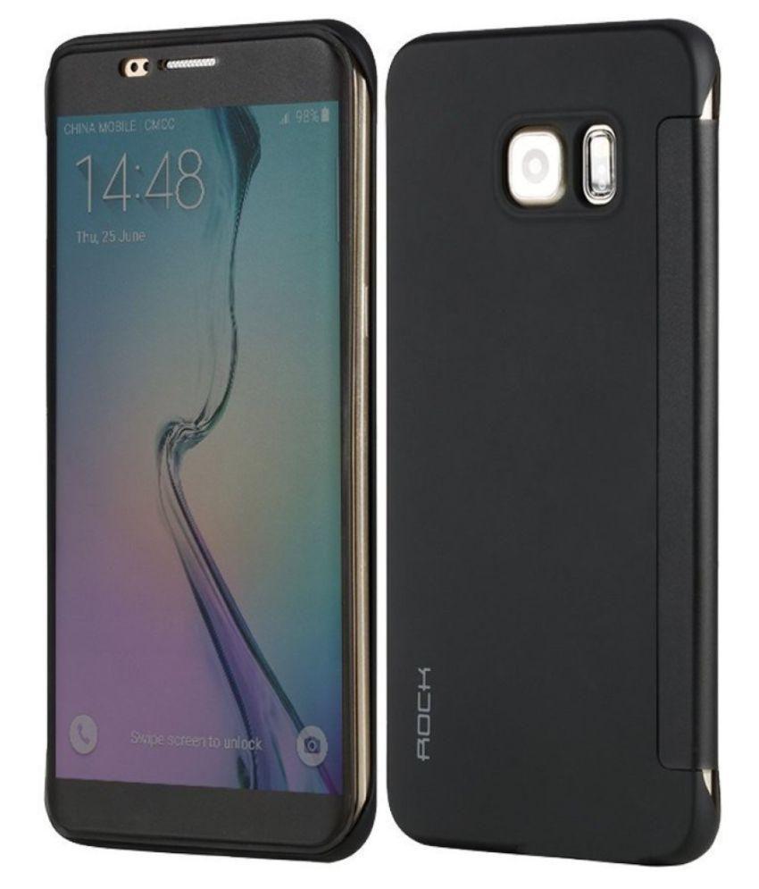 Rock Flip cover for Samsung S7 - DR. V(Black)