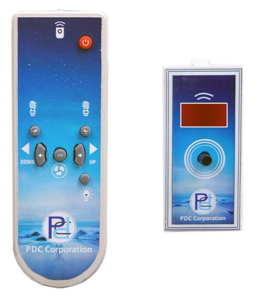 Buy PDC Wireless Remote Control 4-Channel Modular Switches Online at ...