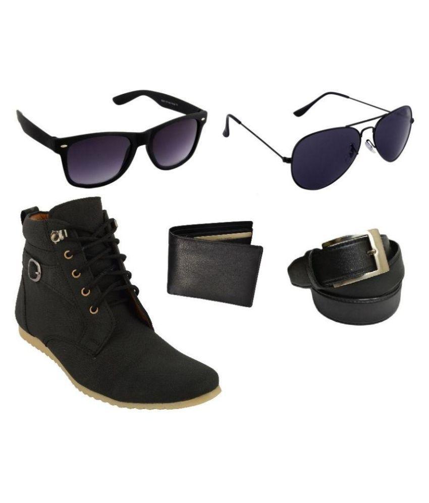 Lavi Black Boots