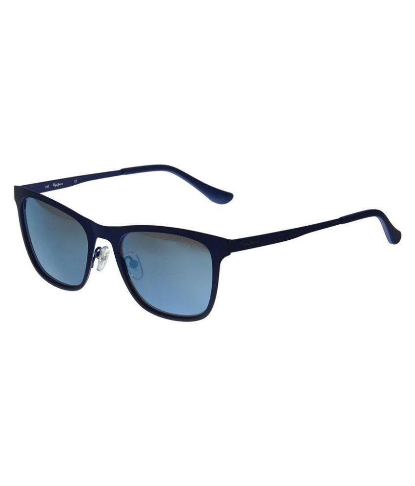 e507fe6294407 Pepe jeans sdl637620839481 Blue Wayfarer Sunglasses Pj5106c253 ...