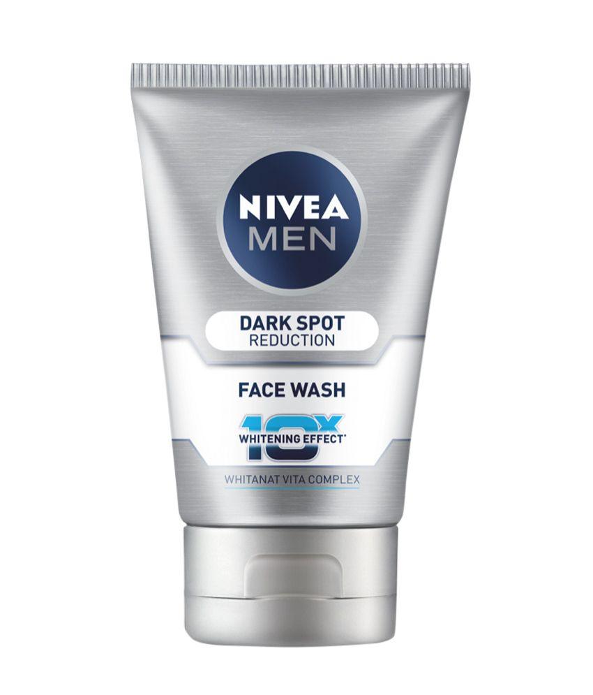 Nivea Men Face Wash 100gm + Free Face Scrub 50gm low price