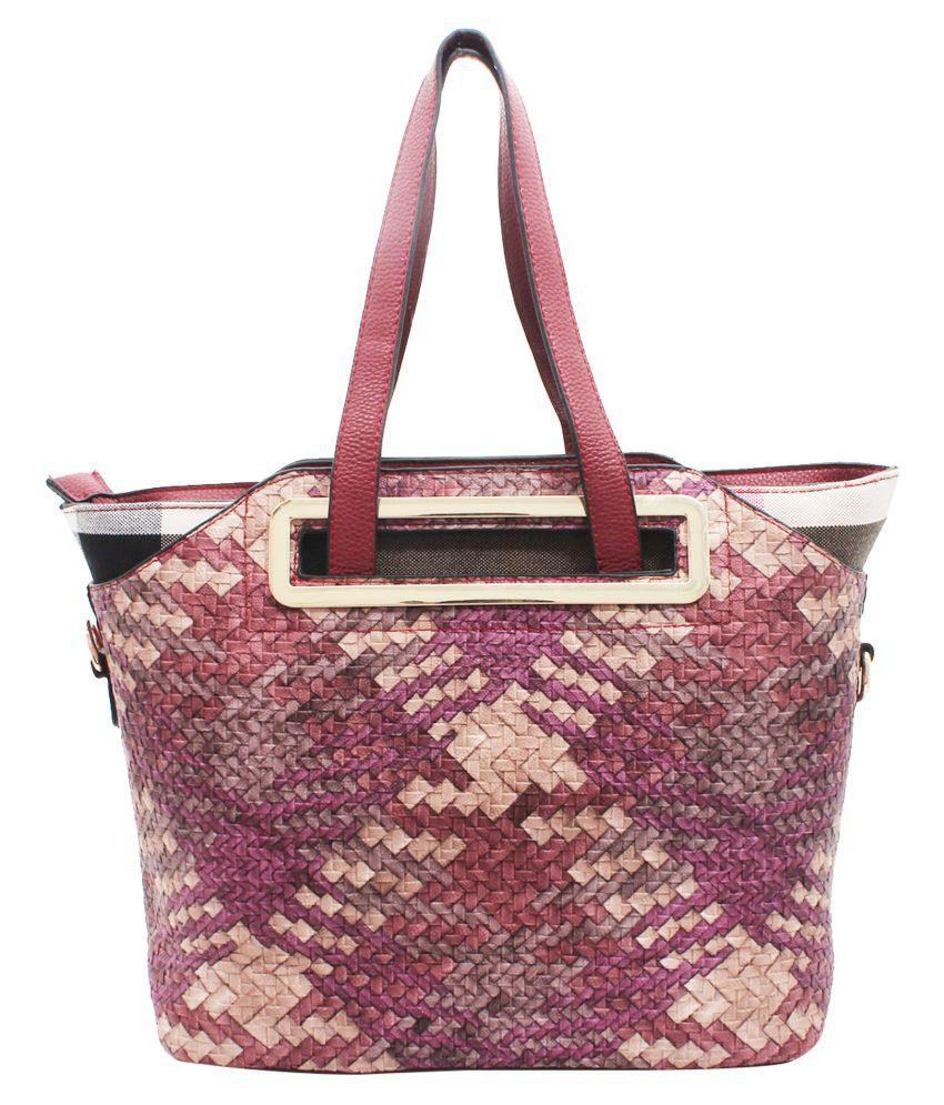 Kushi Multi Faux Leather Shoulder Bag