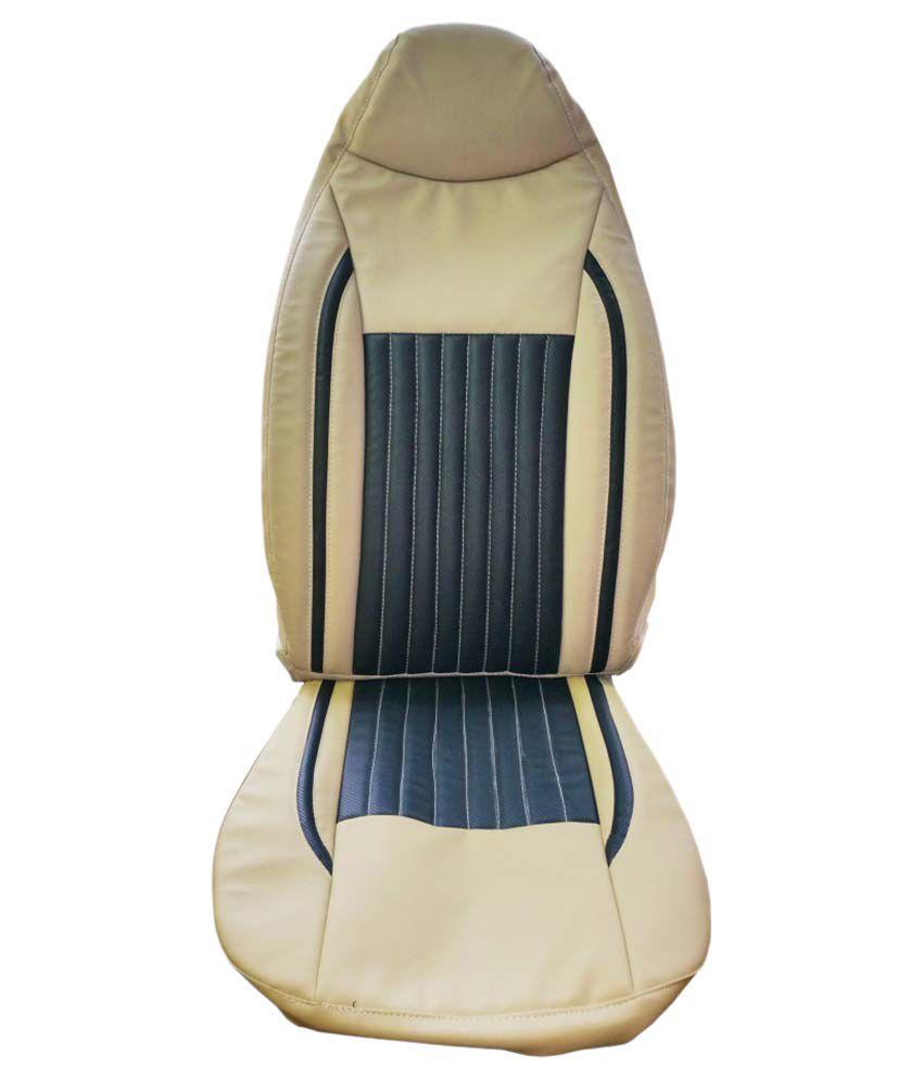 kvd autozone beige car seat cover pack of 4 buy kvd autozone beige car seat cover pack of 4. Black Bedroom Furniture Sets. Home Design Ideas