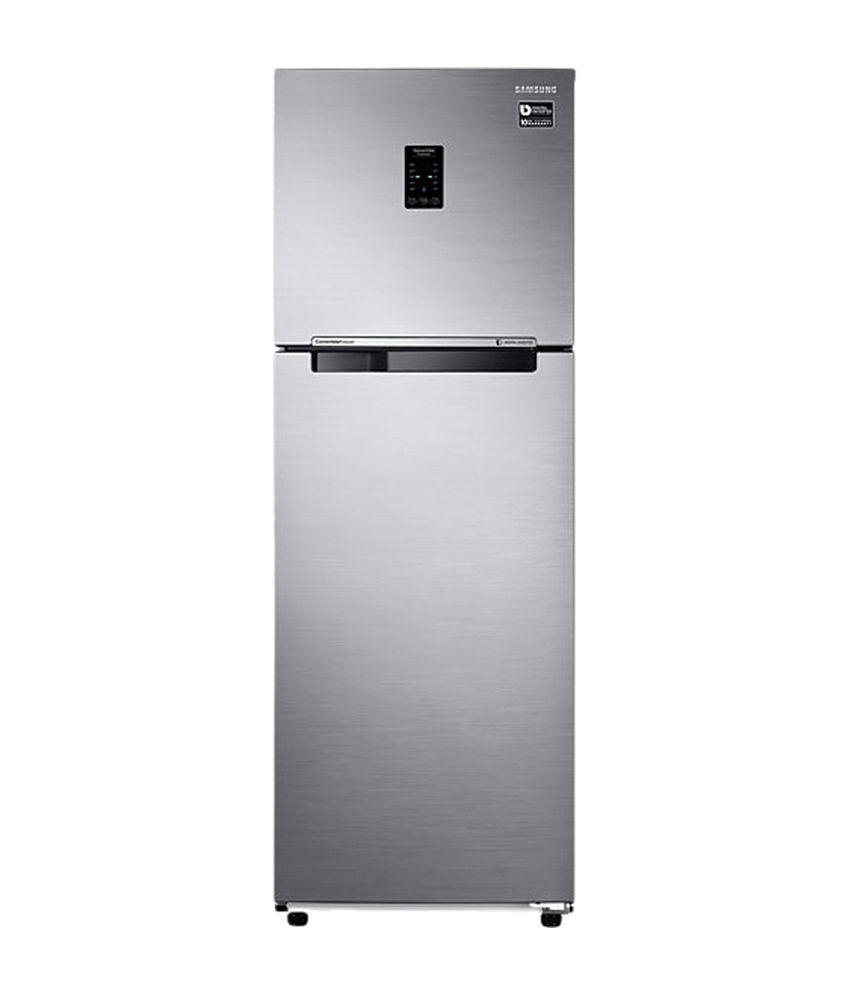 Samsung 345 Ltrs RT37K3753S8 Frost Free Double Door Refrigerator Elegant Inox