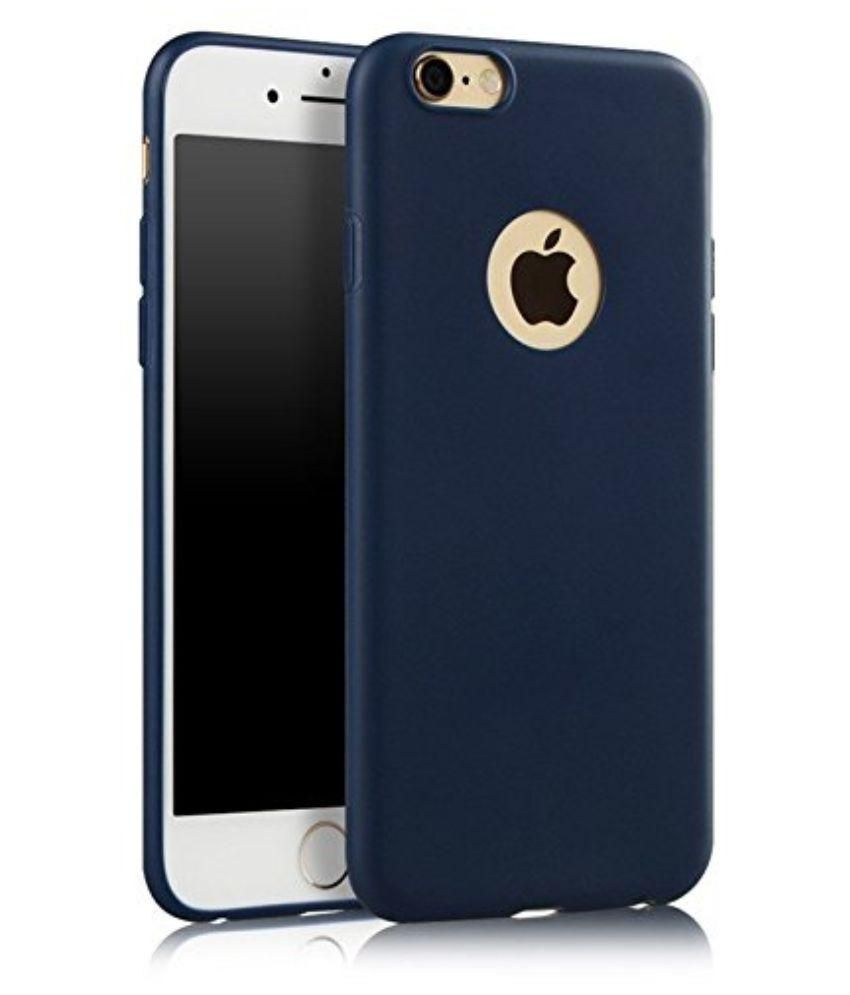 Apple iPhone 6 Plus Plain Back Covers IKAZEN - Blue