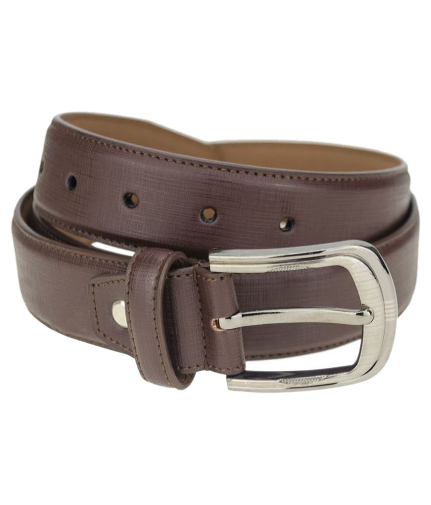 Kaos Brown Leather Belt for Men