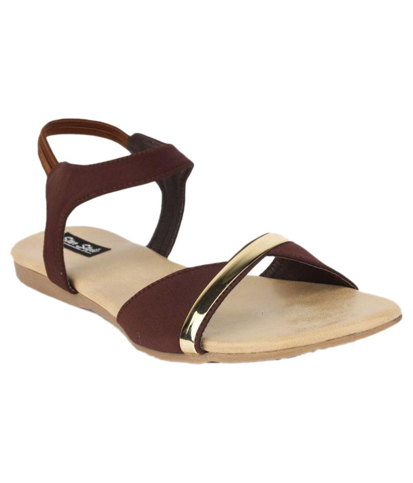 Star Style Brown Sandals