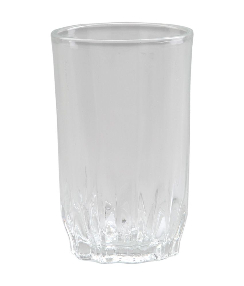 @home by Nilkamal Clear Glass Exotic Beverage Tumbler
