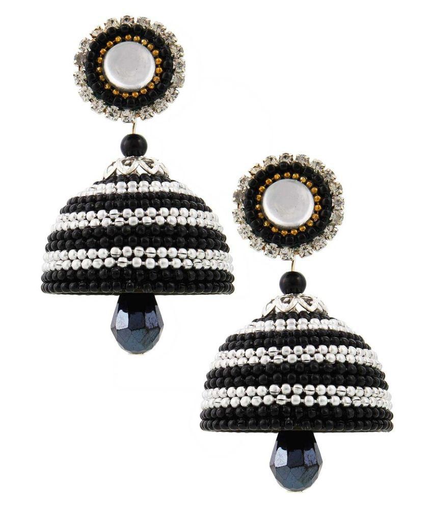 Ambika Ecommerce Black Earrings
