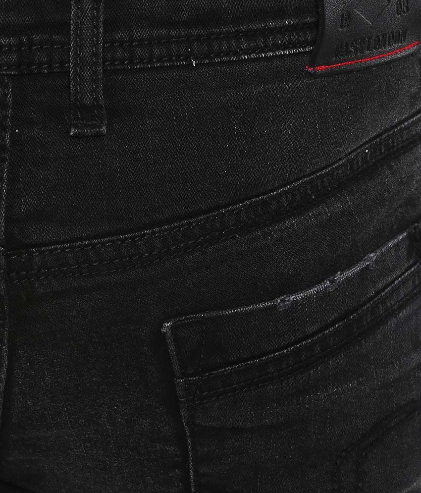 5c4a80d2c92c9 Lee Cooper Black Slim Fit Jeans - Buy Lee Cooper Black Slim Fit ...