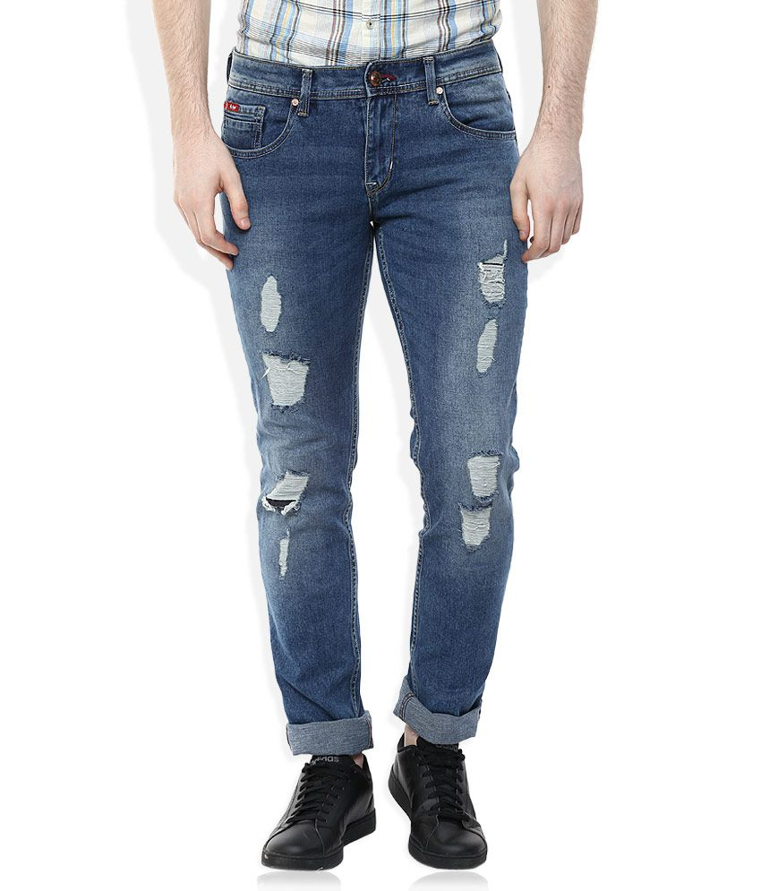 Lee Cooper Blue Slim Fit Jeans