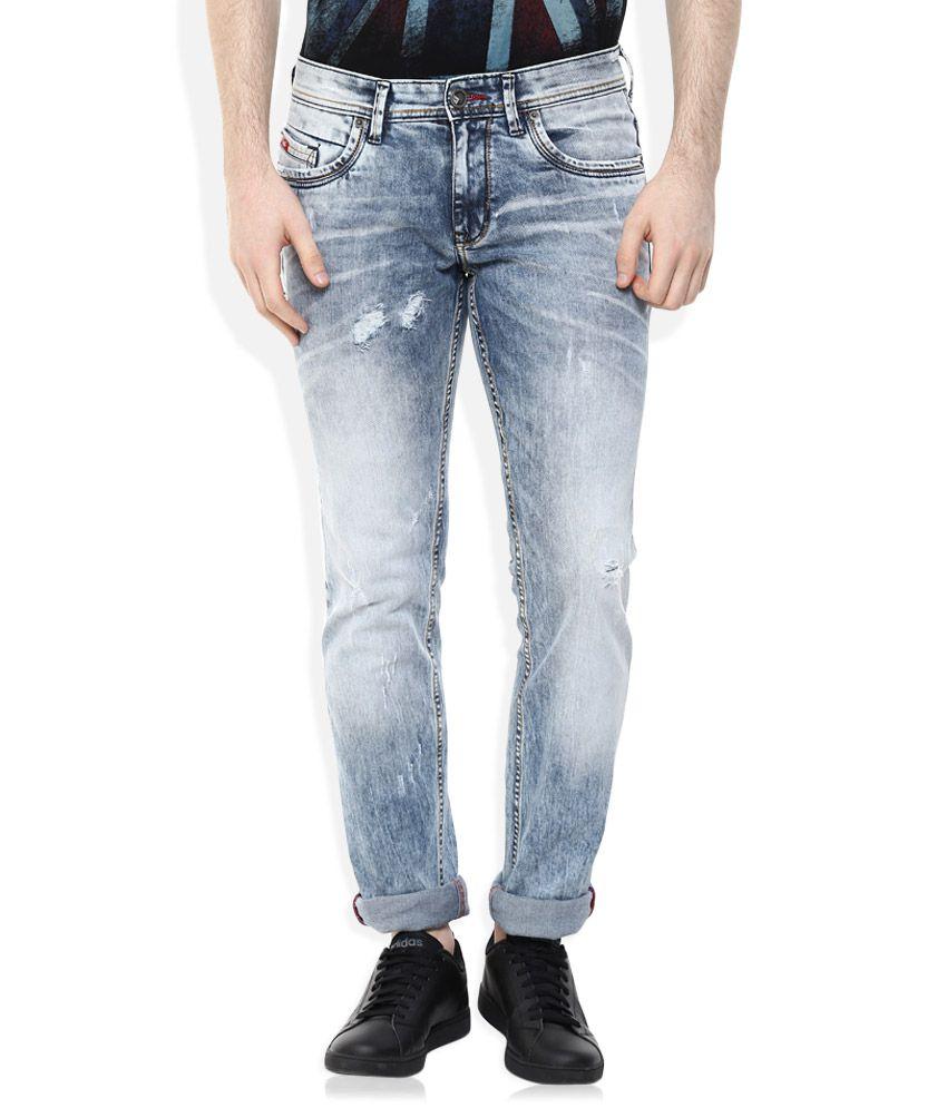 Lee Cooper Blue Slim Fit Jeans
