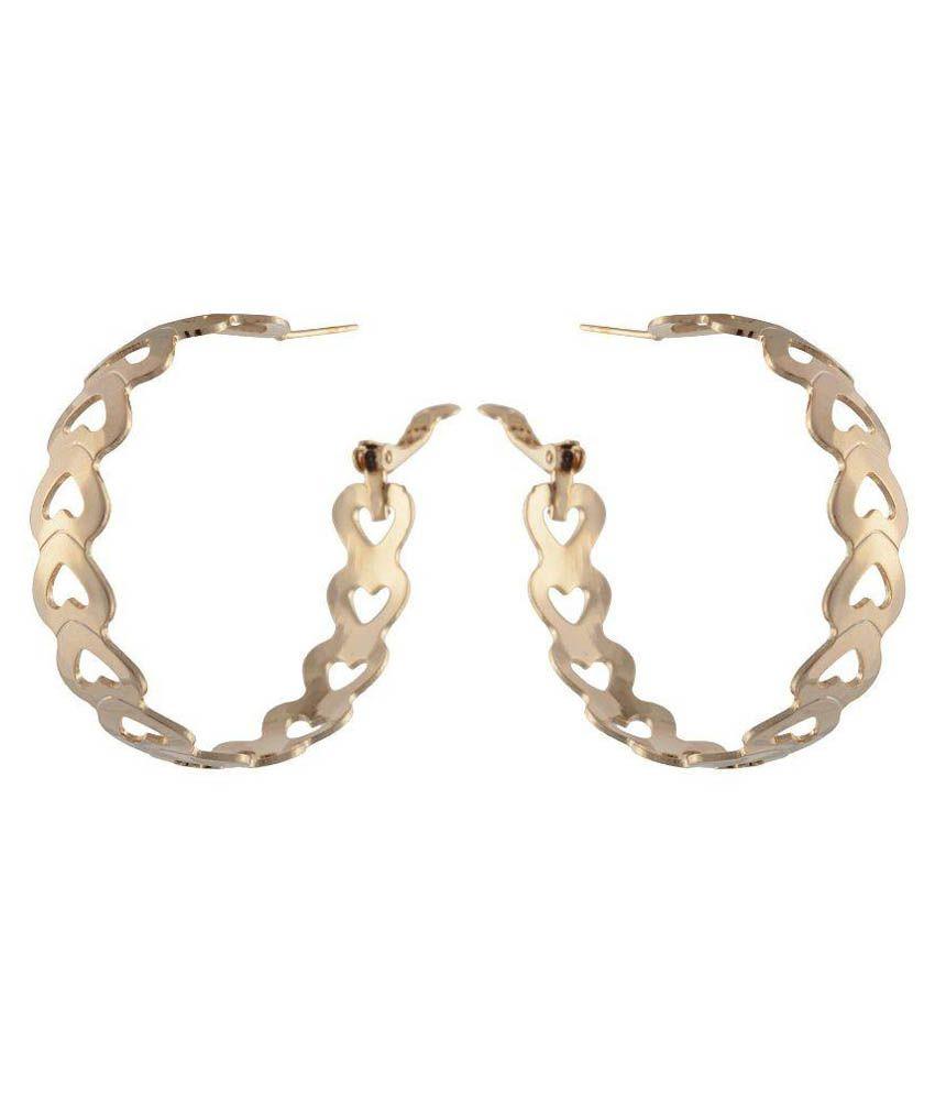 High Trendz Golden Earrings