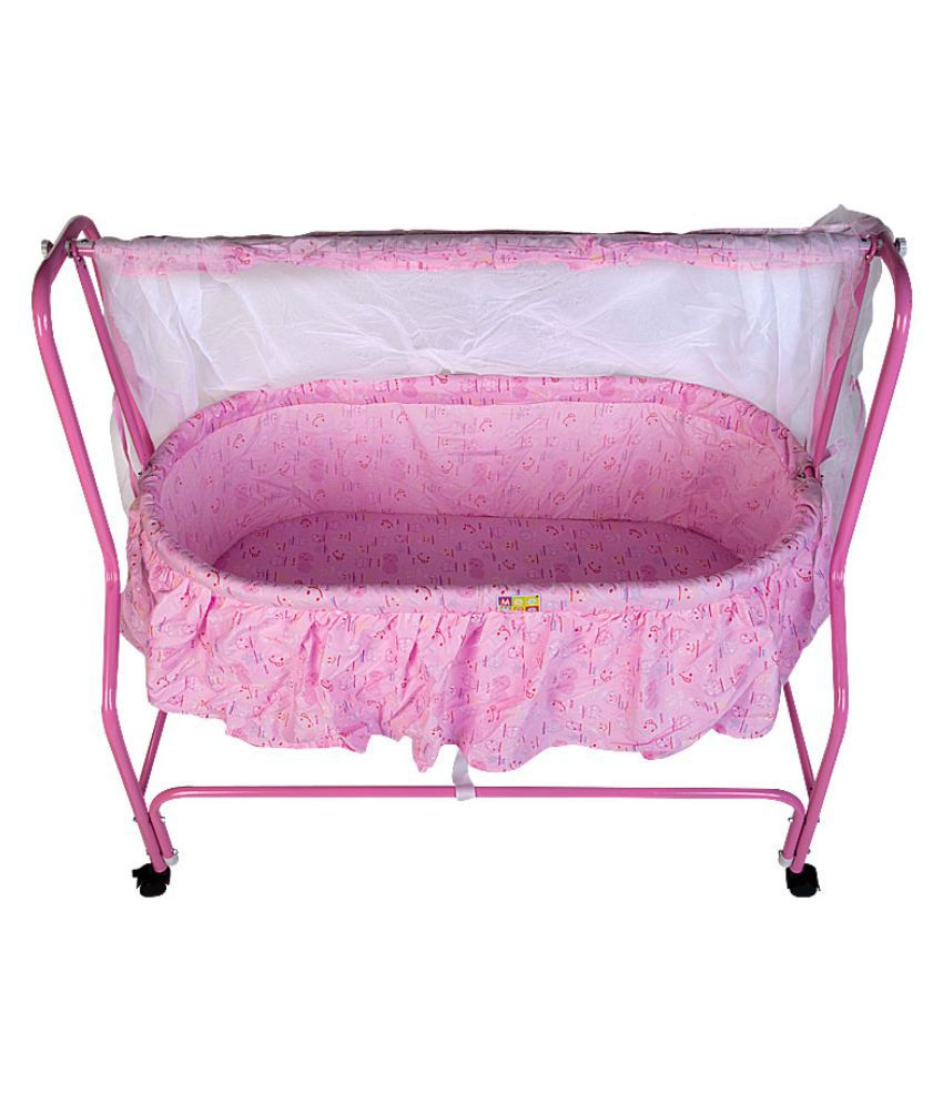 Mee Mee Baby Cradle_Pink