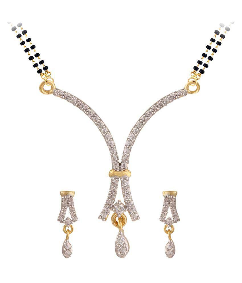 Parinaaz Silver Mangalsutra Set
