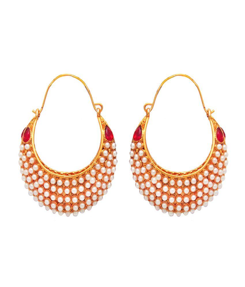 Om Jewells Golden Earrings