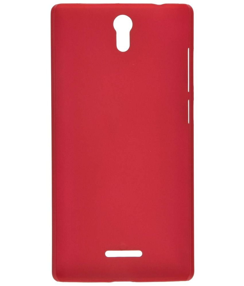 buy popular 79172 391b3 Nilkin Frosted Back Case/Cover OPPO MIRROR 3/ 3007 Red - Mobile ...