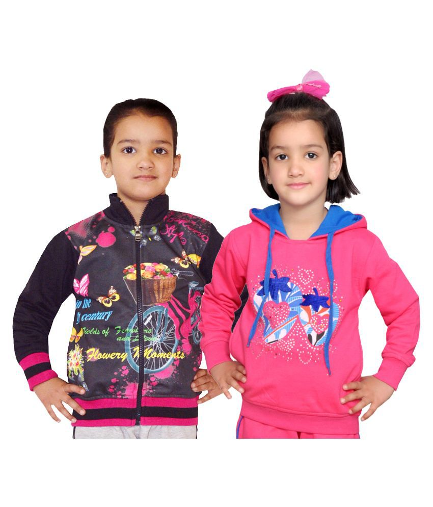 Shaun Multiclolor Woolen Sweatshirts - Pack of 2