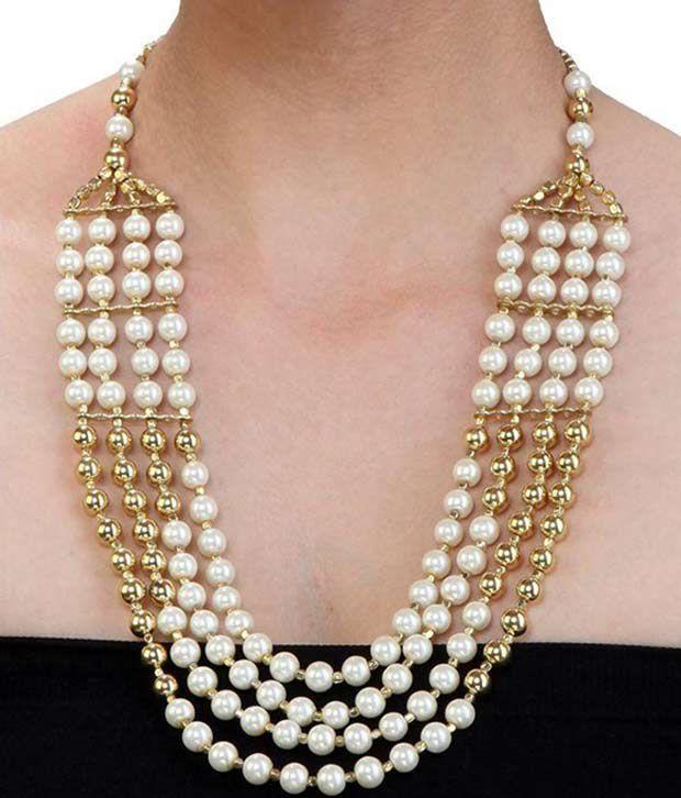 Fedexo White Necklace