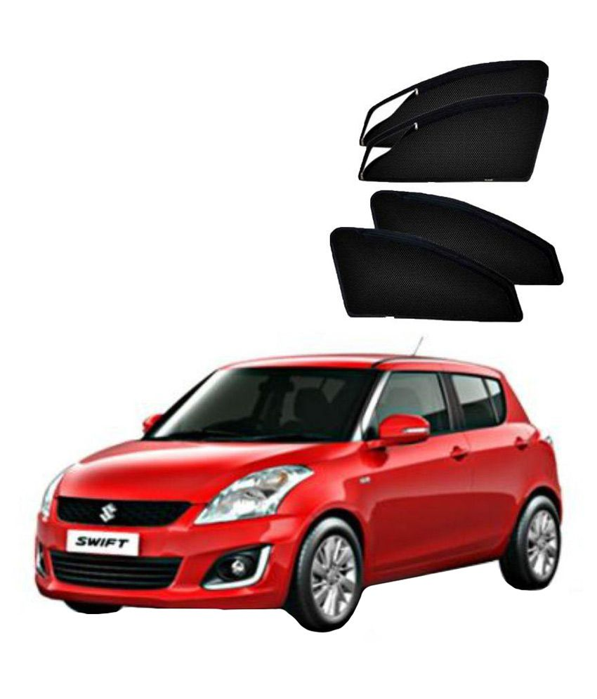 Hommer Black Car Sunshades with Keyring