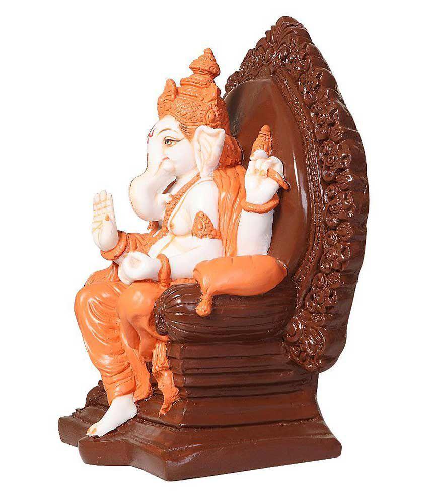 Craft Industries Ganesha Resin Idol
