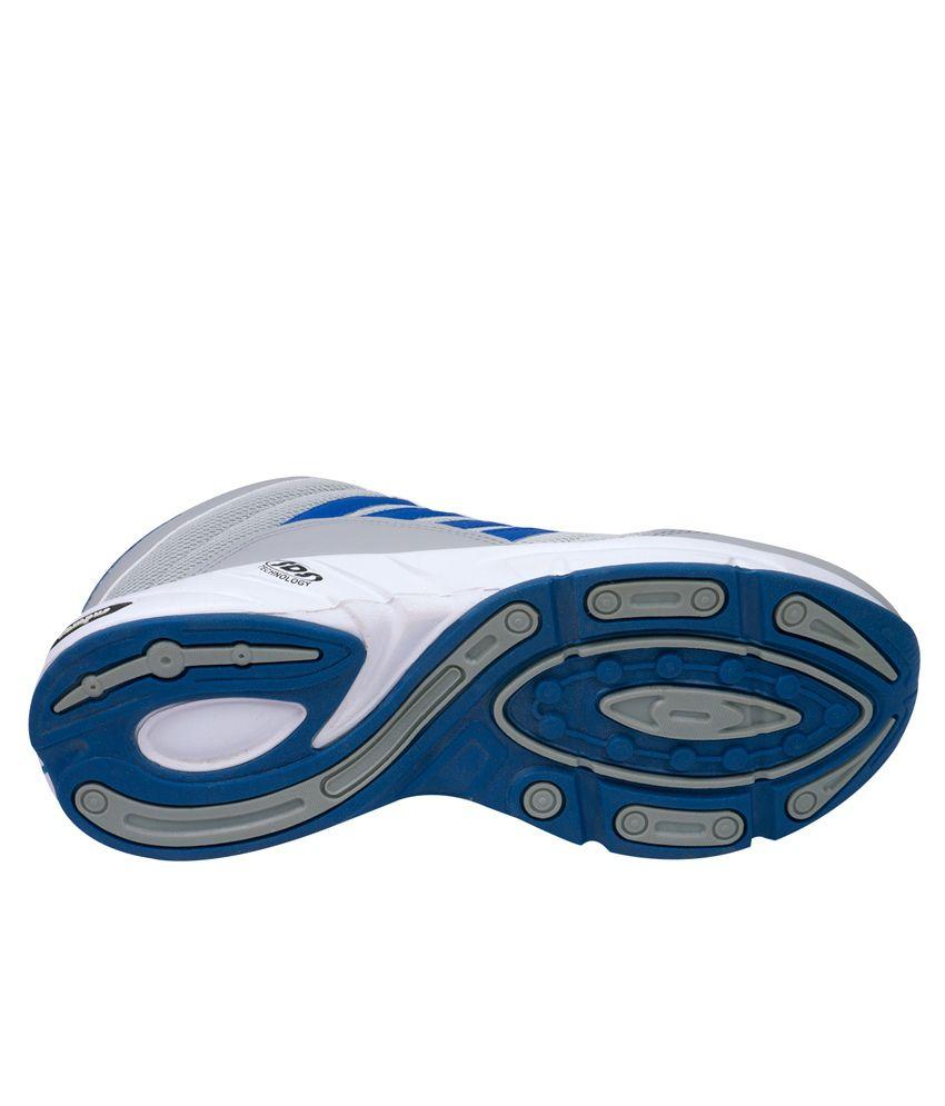Campus Bond Grey & Blue Sports Shoes For Men