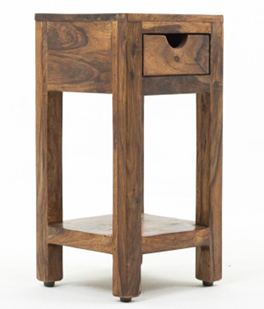 Kings Crafts Mia Solid Wood Side Table