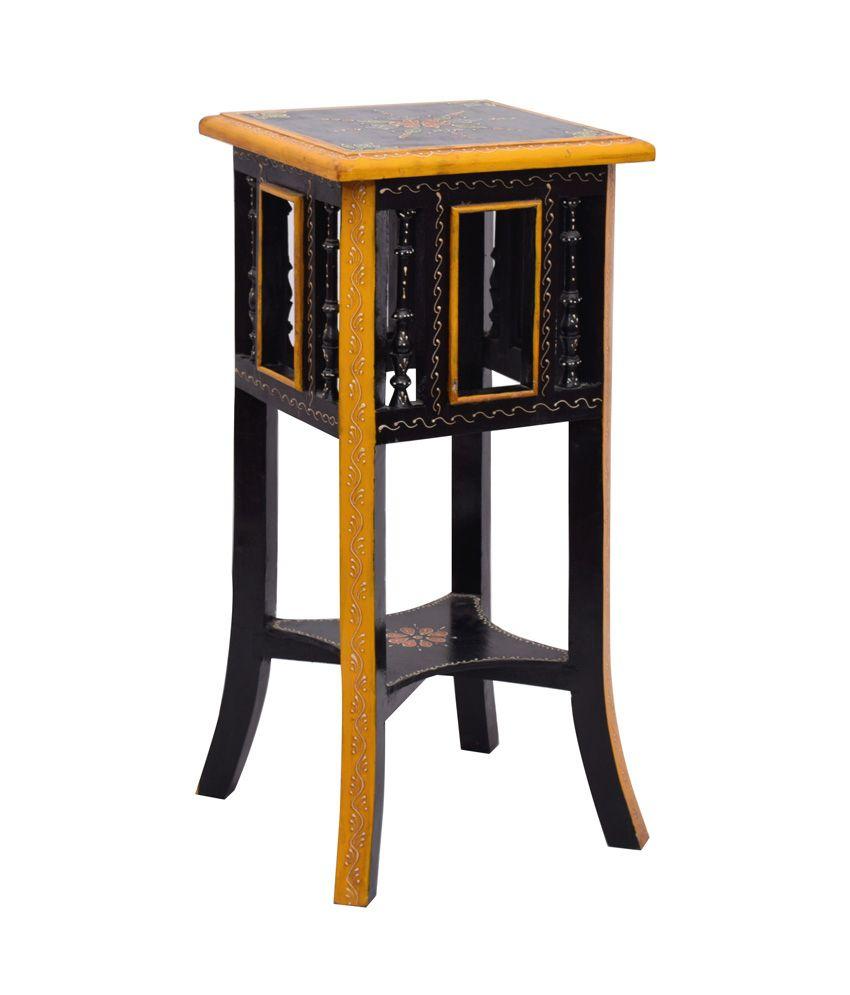 Kings Crafts Swar Solid Wood Side Table