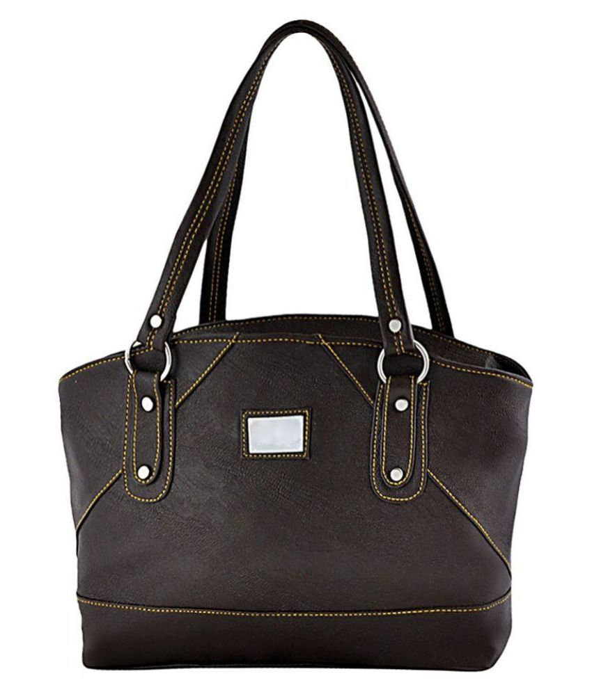 Smartways Brown Pure Leather Shoulder Bag