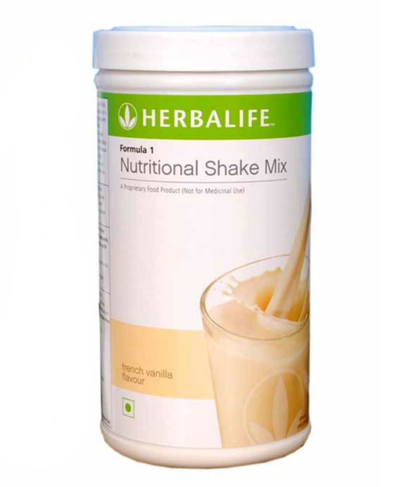 herbalife formula 1 nutritional shake mix vanilla flavour 500gm: buy