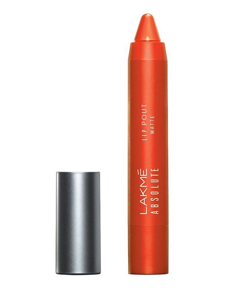 Lakme Absolute Lip Pout Matte Tangerine Touch Lip Color 3.5 gm