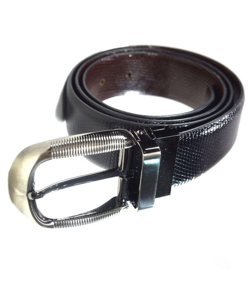 Moochies Black Leather Belt