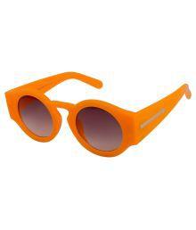 Farenheit Gray Round Sunglasses ( 2502 )