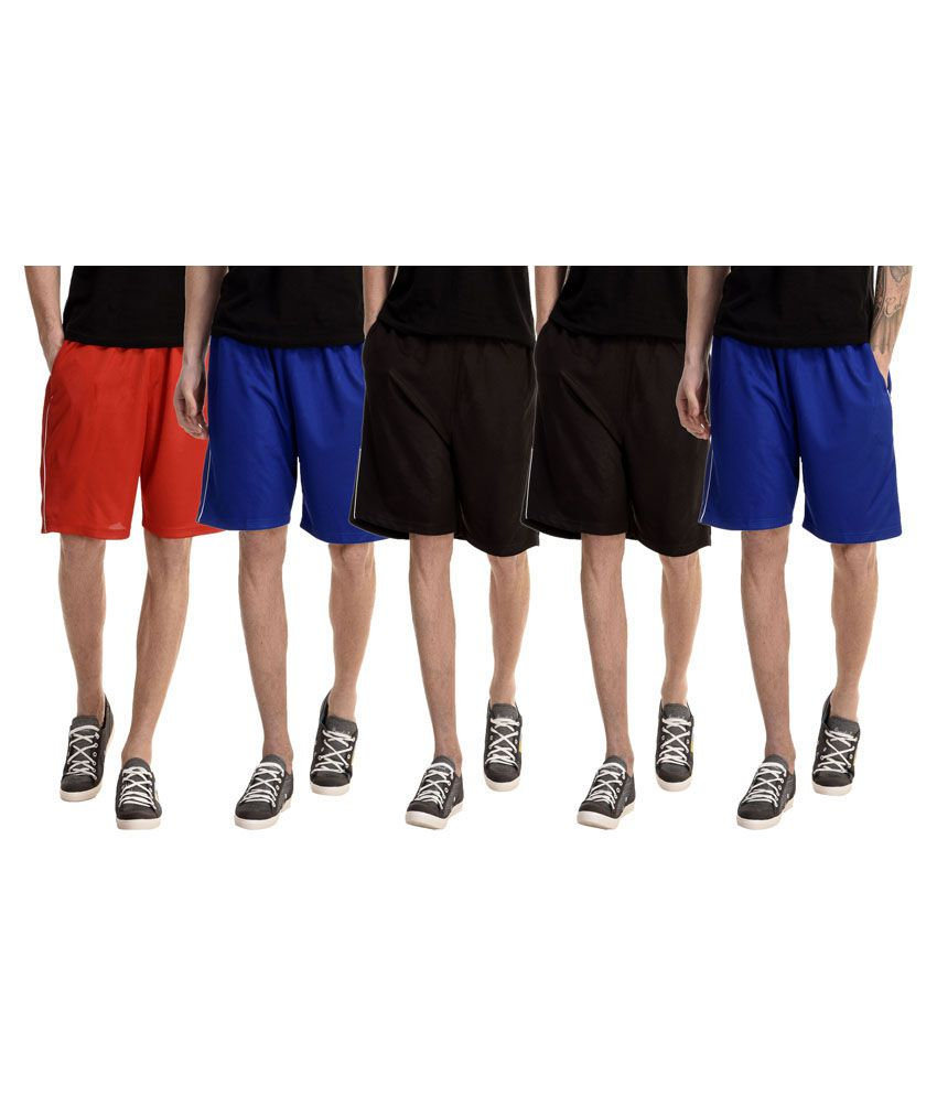 Dee Mannequin Multi Shorts Pack of 5
