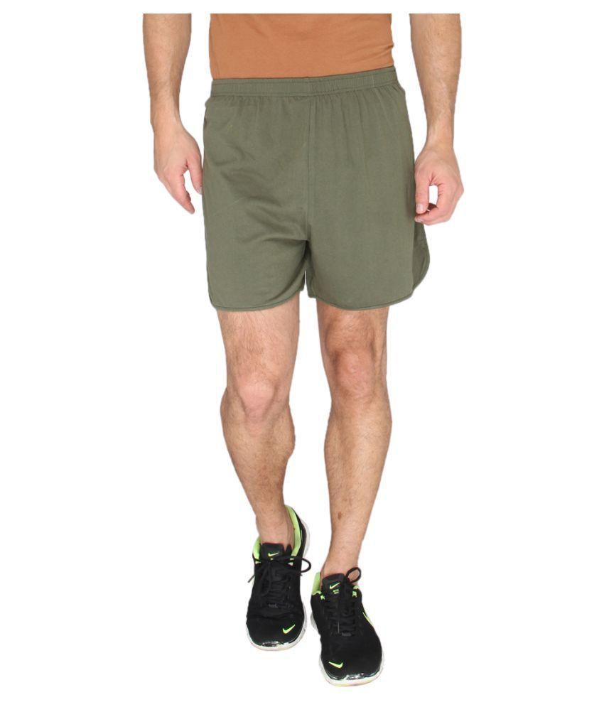 LUCfashion Green Shorts