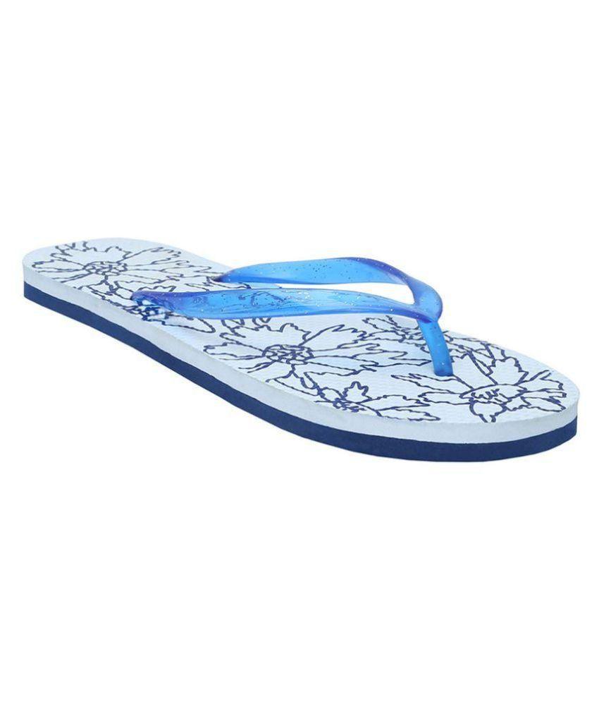 Bareskin White Slippers