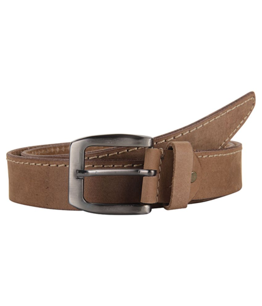 Cottage Accessories Brown Leather Belt for Men