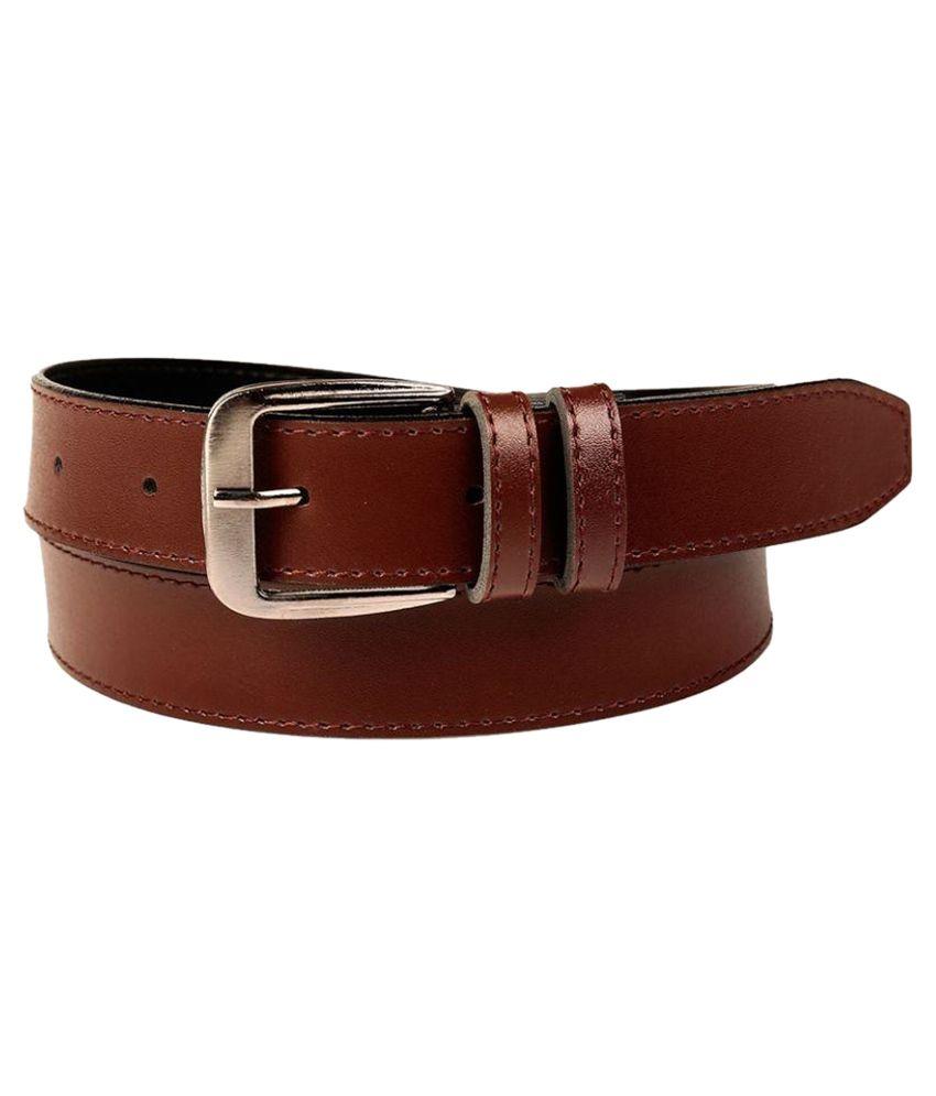 Sine India Brown Belt For Men
