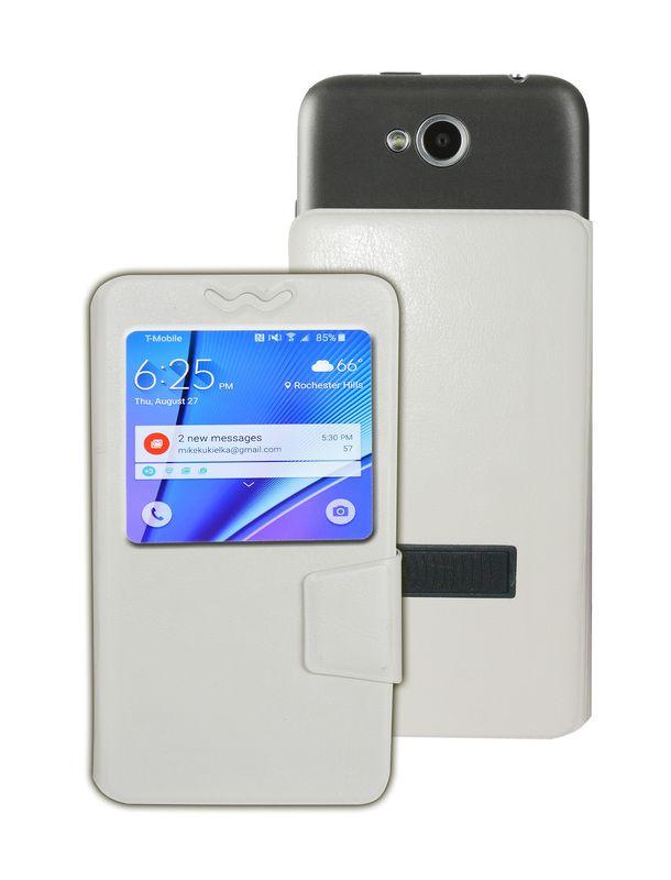 LG Optimus G E975 Flip Cover by Corcepts - Black