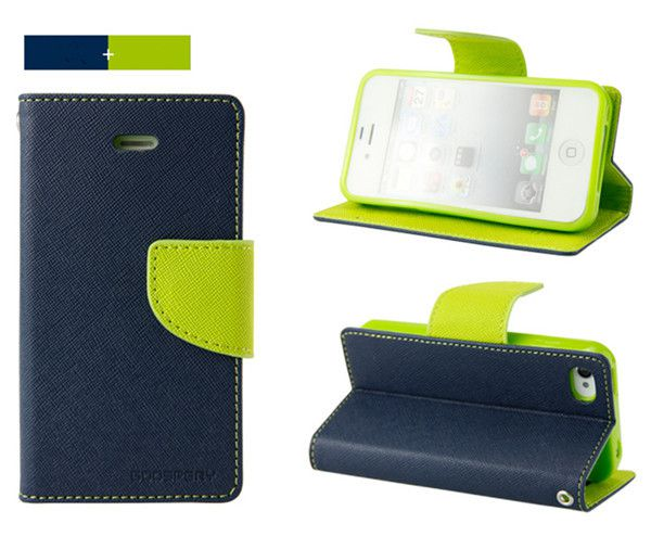 Micromax Canvas Spark Flip Cover by GMK MARTIN - Blue