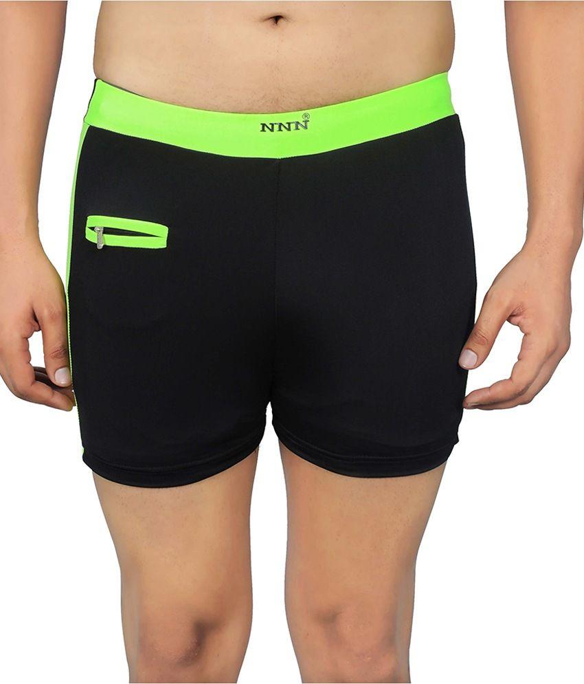 NNN Black Lycra Shorts