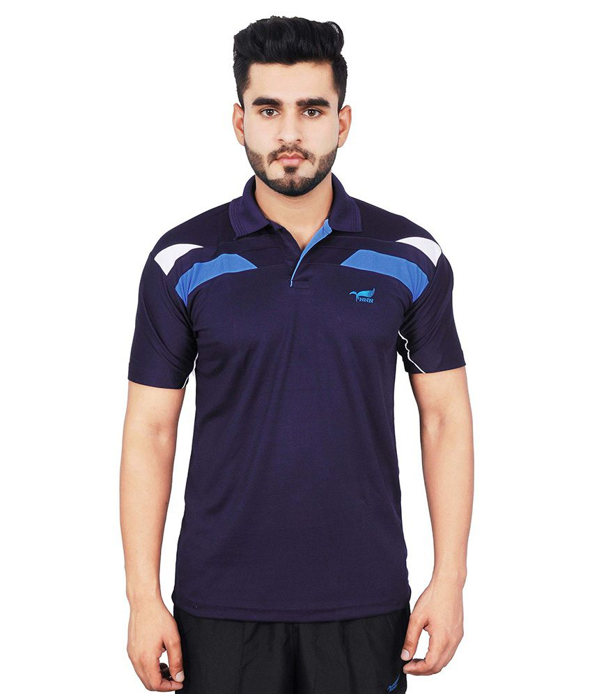 NNN Navy Blue Polo T-Shirt
